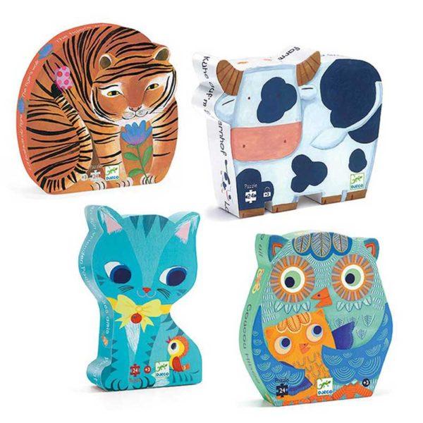 animal shaped puzzles