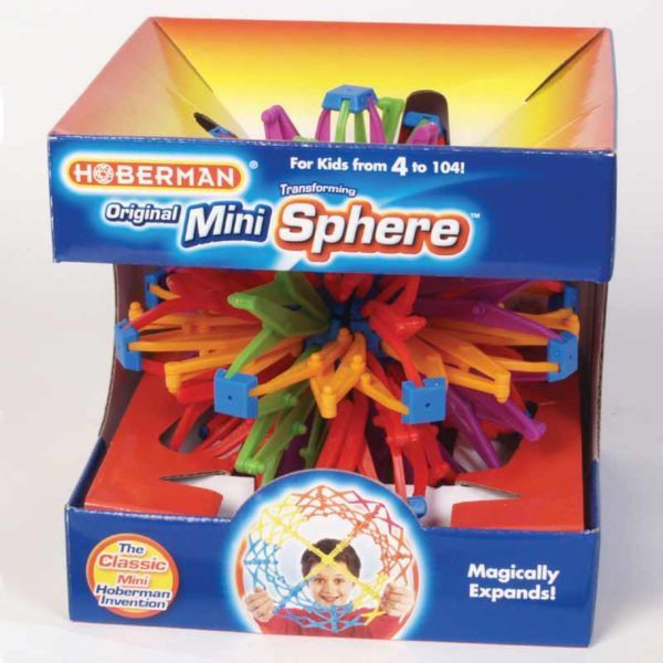 growing hoberman sphere